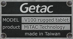 MiTAC Technology Getac V100